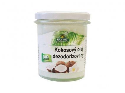 Kokosový olej dezodorizovaný BIO
