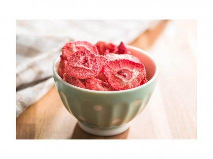 Royal Pharma Crunchy Snack Jahody sušené mrazem 20g