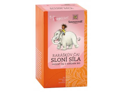 Sonnentor Raráškův čaj Sloní síla (ovocný) porc. BIO 40g