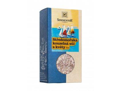 Sonnentor Středomořská kouzelná sůl s květy 120g
