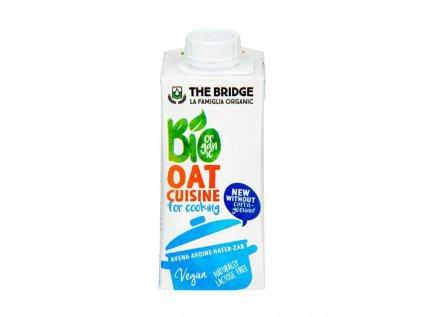 THE BRIDGE Ovesná alternativa smetany na vaření 200 ml