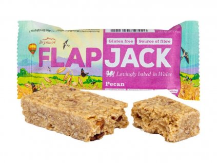 WHOLEBAKE Flapjack ovesný pekan 80g
