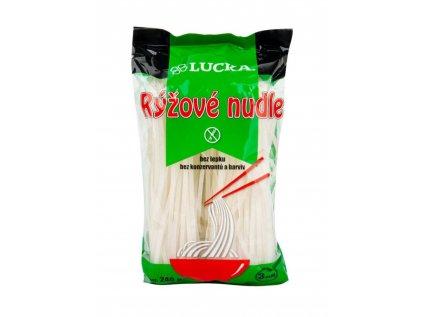 LUCKA Těstoviny rýžové  bez lepku 240g