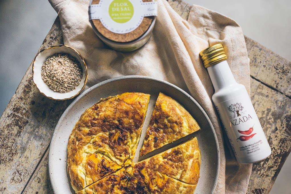 Pikantní dýňová tortilla