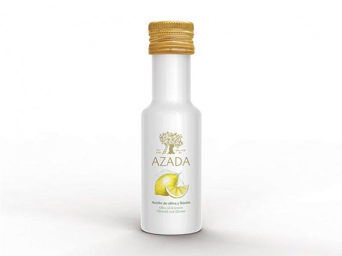 azada lahvicka oliva limon