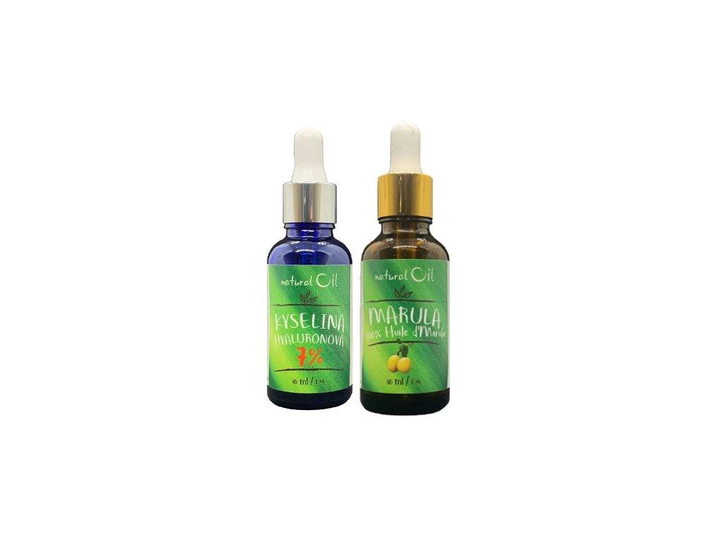Balíček č. 2 (Kyselina Hyaluronová 7% + Marulový olej)