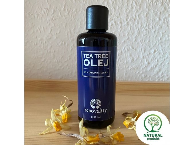 Tea tree 100 ml logo