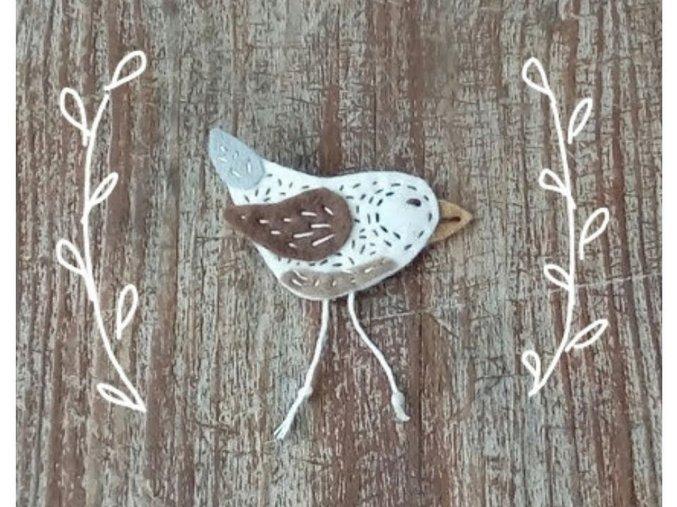 Brož ptáček