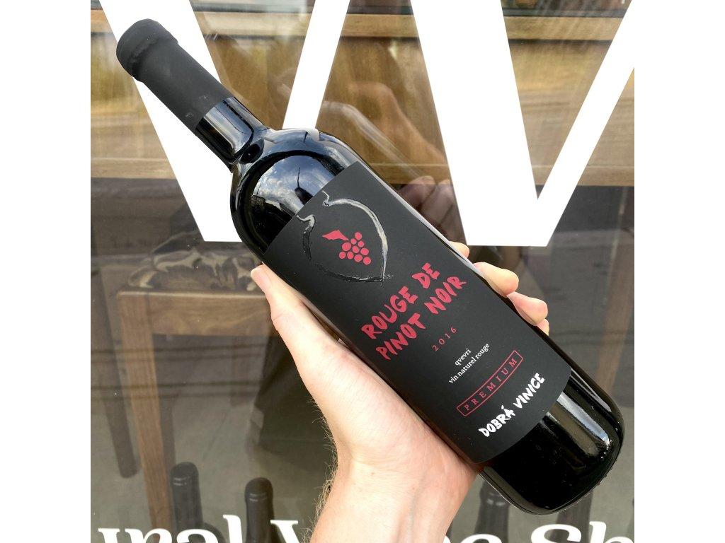 Dobrá Vinice - Rouge de Pinot Noir 2016
