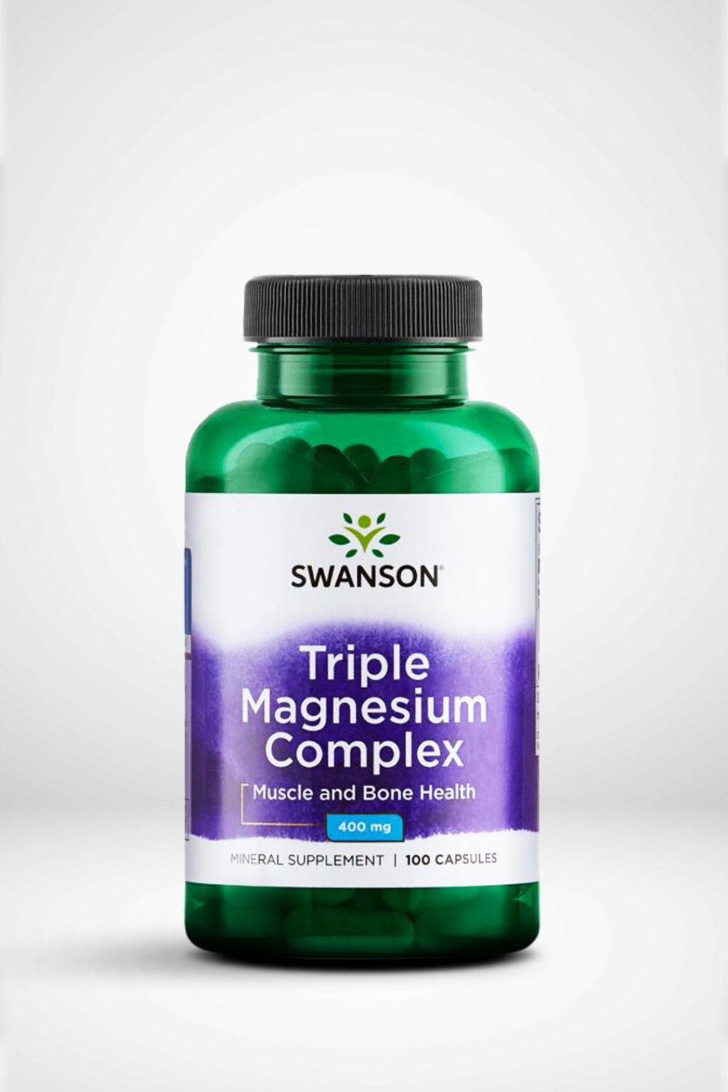 Swanson Triple Magnézium