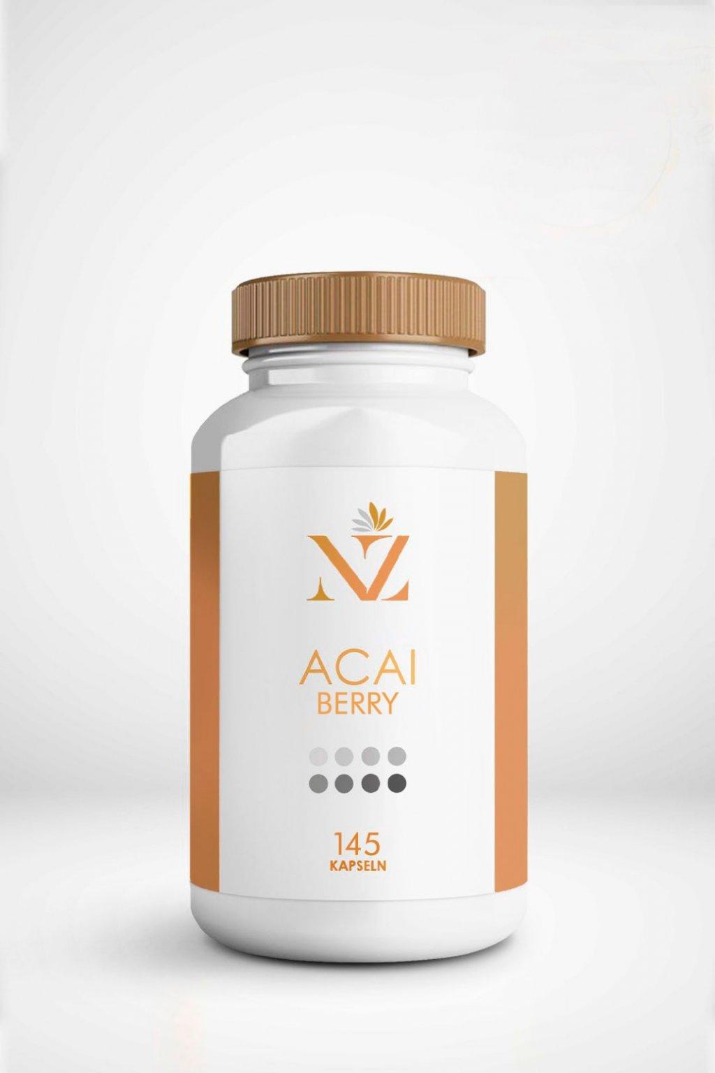 Acai berry vitaminok naturalzen