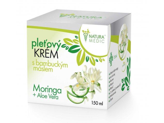 Krém s bambuckým máslem - Moringa + Aloe Vera