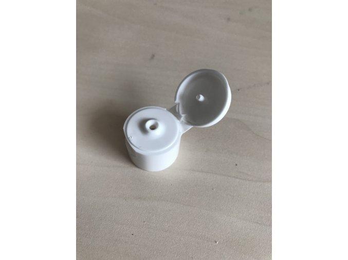 Uzávěr bílý flip malý G18x3