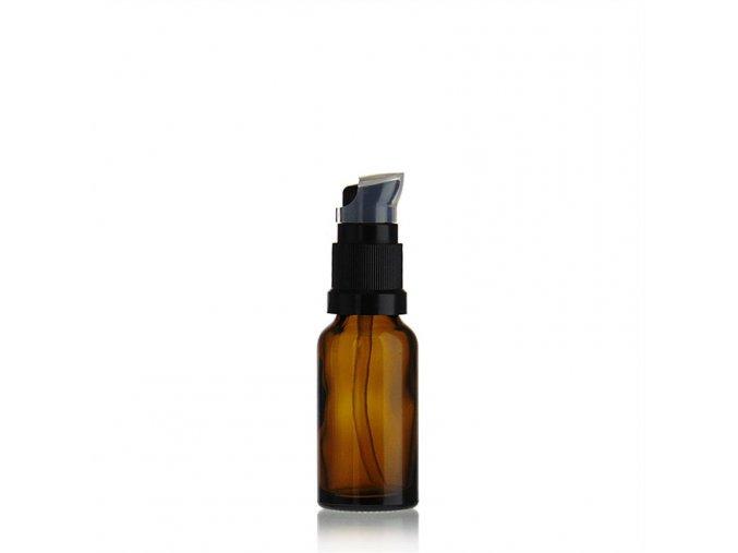 20ml medicijn fles met lotion pomp