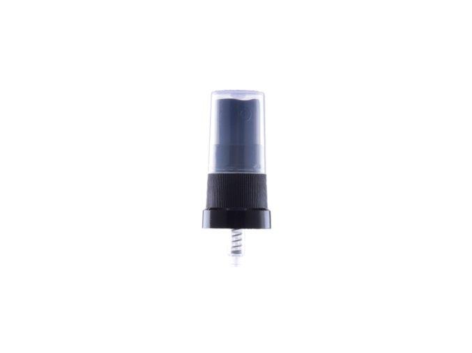 Uzávěr spray černý G18x3