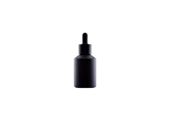 Noid mini - Skleněná lahvička černý mat + pipeta 30ml