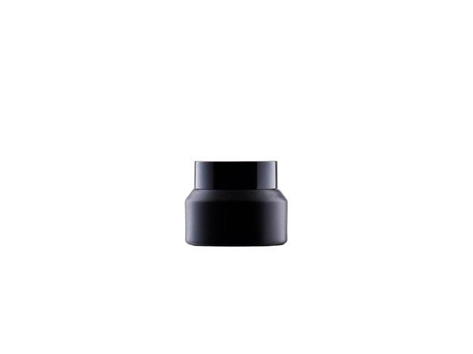 Coral - Skleněný kelímek černý mat 50ml