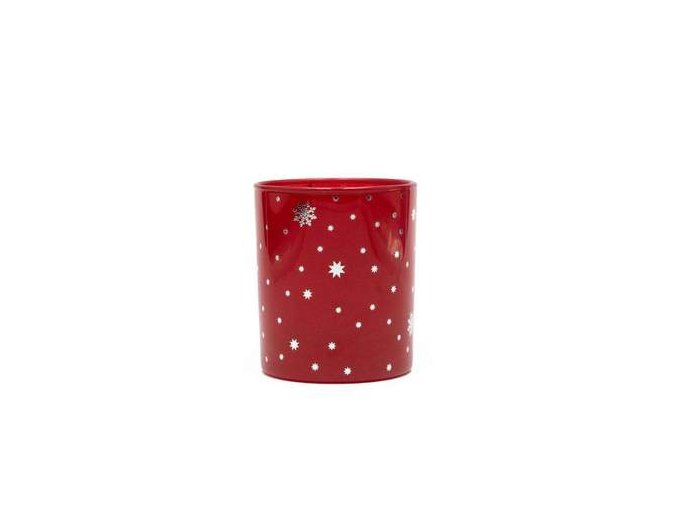 candle shack candle jar red gloss 30cl with silver stars 14649030410303 416x416