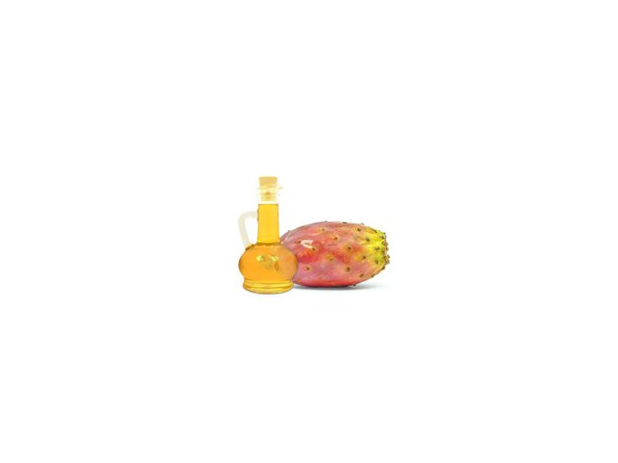 oil prickly pear white background 35358253