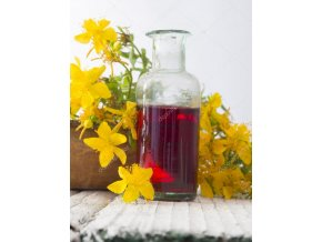 depositphotos 51221931 stock photo st johns wort oil