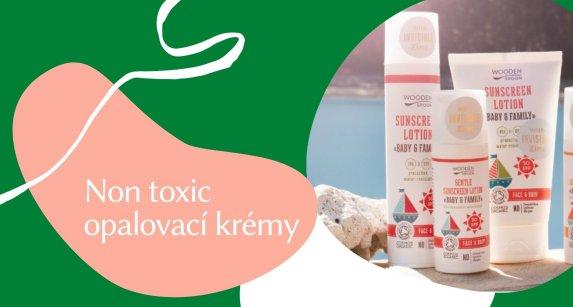 Non toxic opalovací krémy
