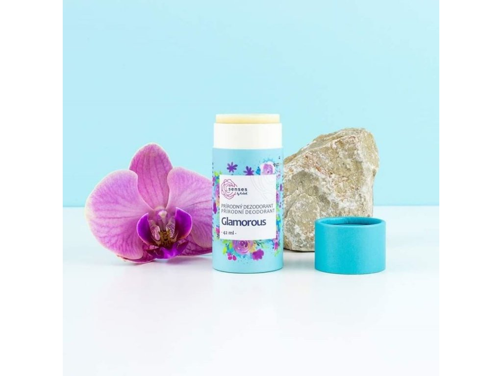 Přírodní tuhý deodorant BEZSODÝ Glamorous Navia/Kvitok