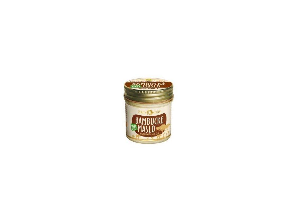 Bio bambucké máslo 120 ml Purity Vision