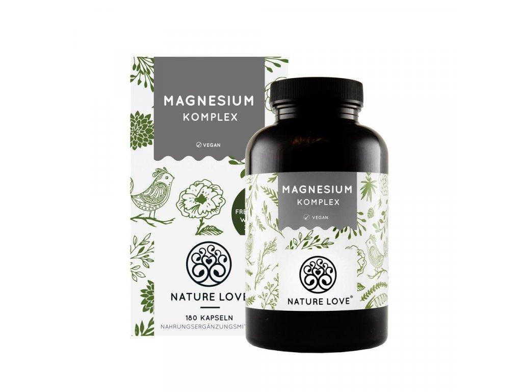 Magnesium Komplex (Hořčík) - na 3 měsíce - Nature Love