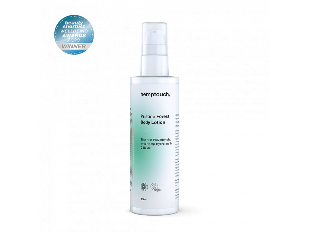 hemptouch pristine forest body lotion