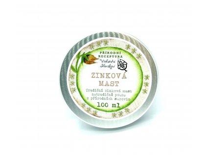 100 % přírodní zinková mast Horákovi 100 ml