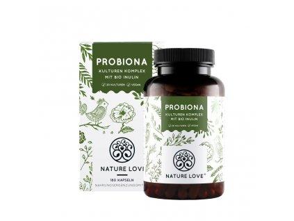Probiotika z 20 různých kmenů - na 3 měsíce - Nature Love