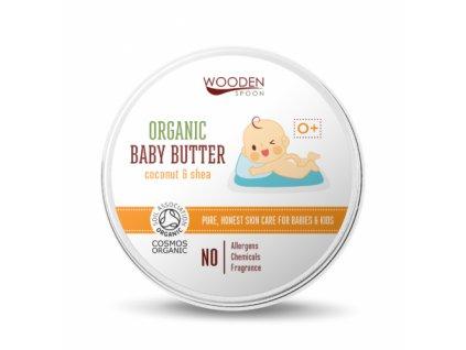 woodenspoon dětské tělové máslo