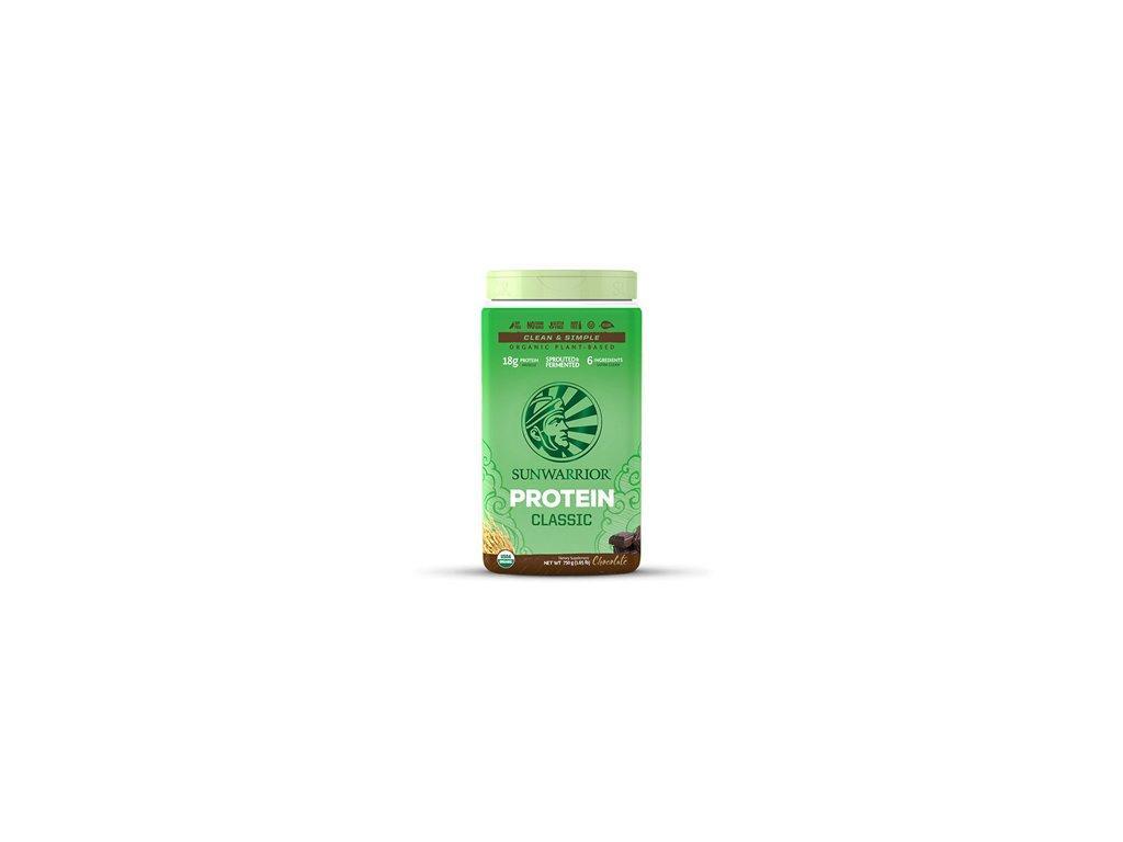 Sunwarrior | Protein Classic BIO čokoláda 750g | Natureforlife.cz