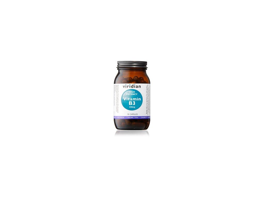 High Potency Vitamin B3 250mg | 90 kapslí | Natureforlife.cz