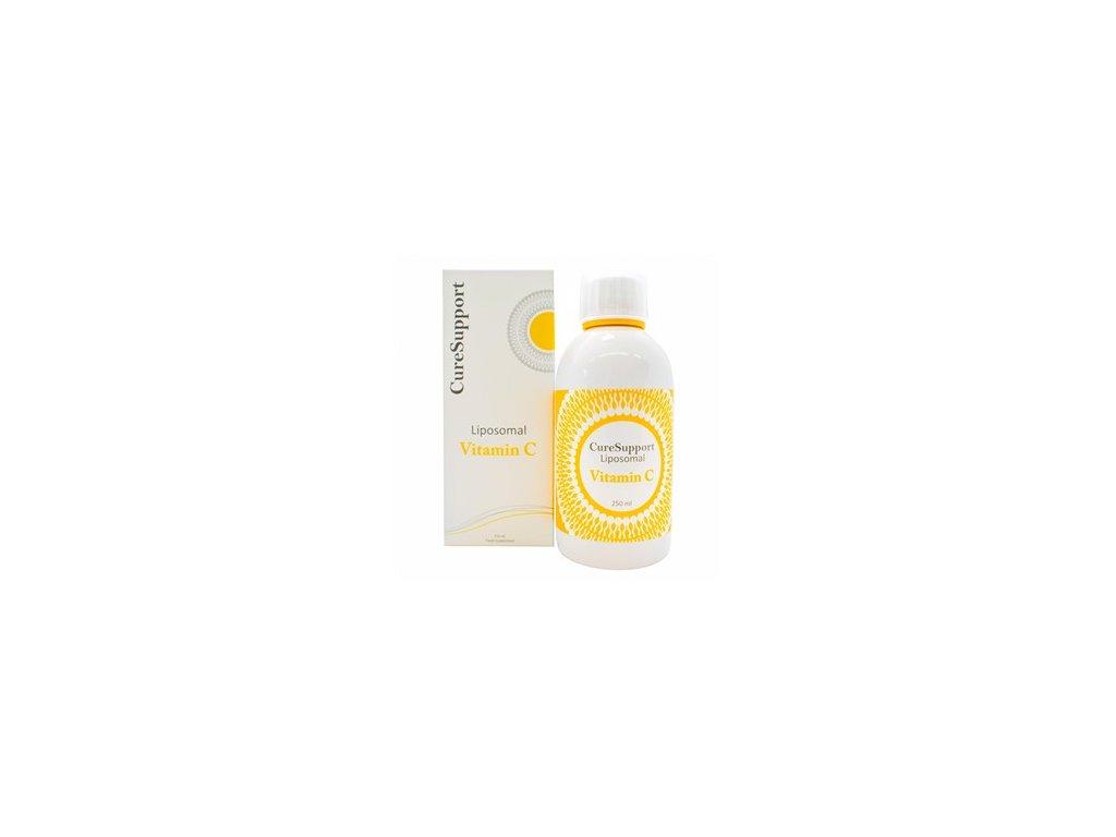 CureSupport Liposomal Vitamin C 1000mg 250ml neutral