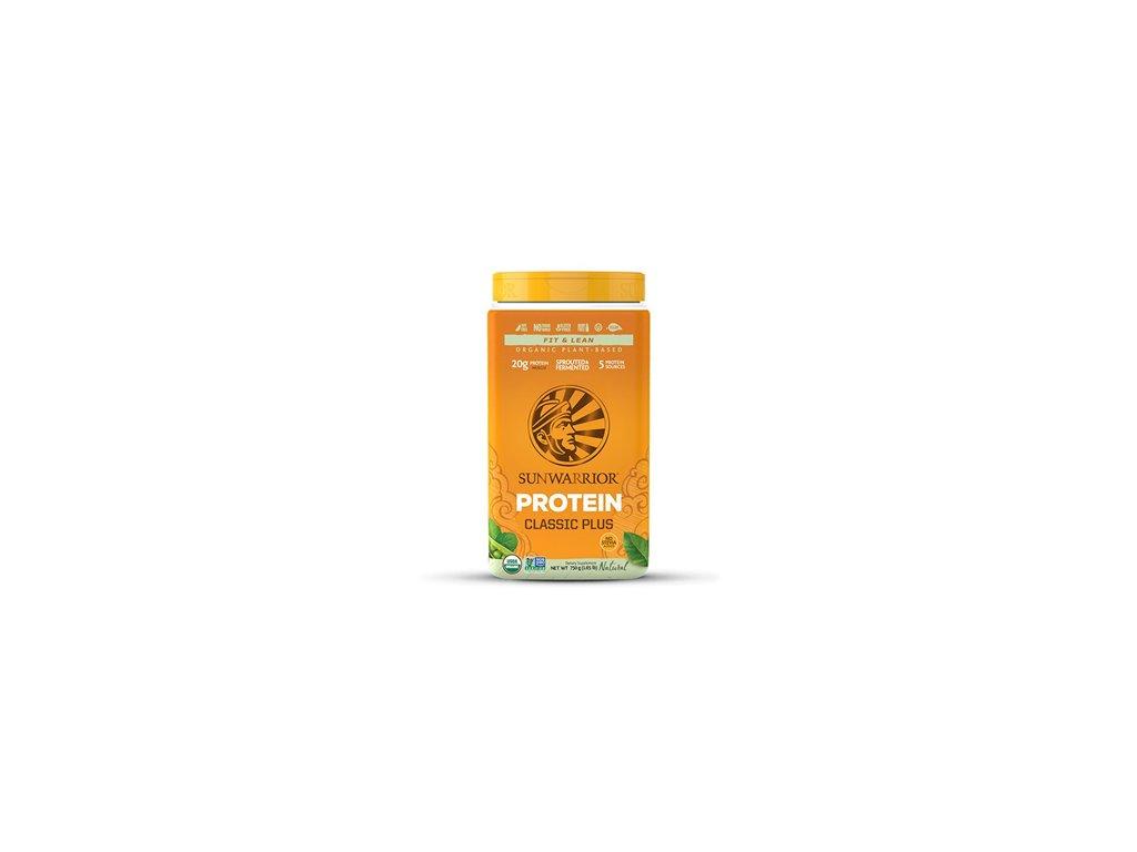 Sunwarrior   Protein Classic Plus BIO natural 750g   Natureforlife.cz