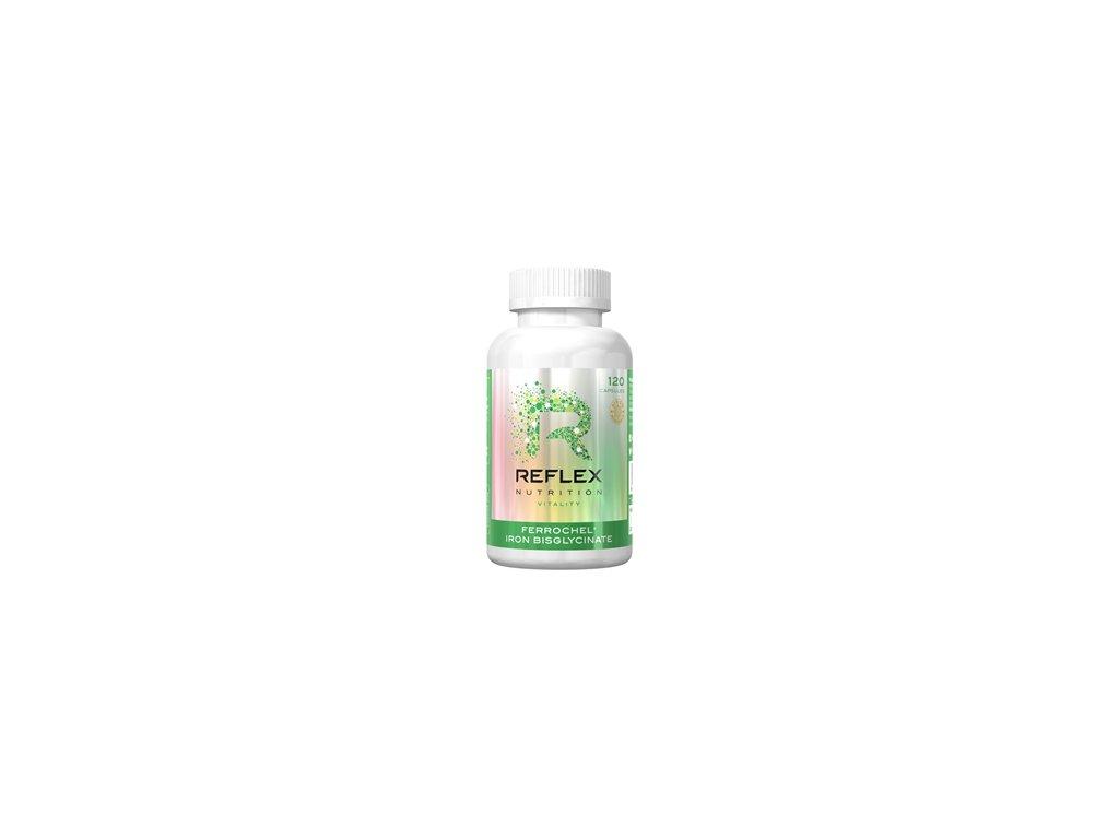 Reflex nutrition | Albion Ferrochel 120 kapslí | Natureforlife.cz