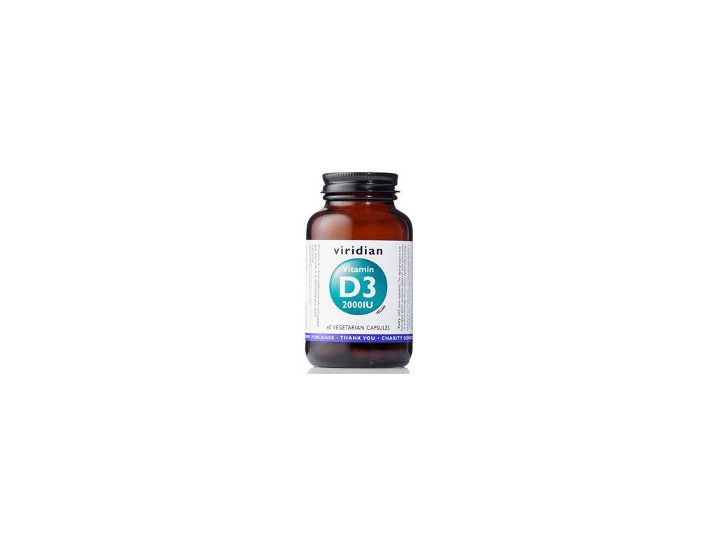 Vitamin D3 2000iu | 60 kapslí | Natureforlife.cz