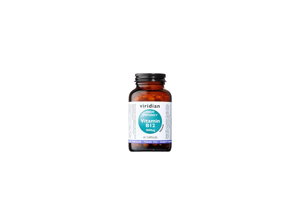 High Potency Vitamin B12   60 kapslí   Natureforlife.cz