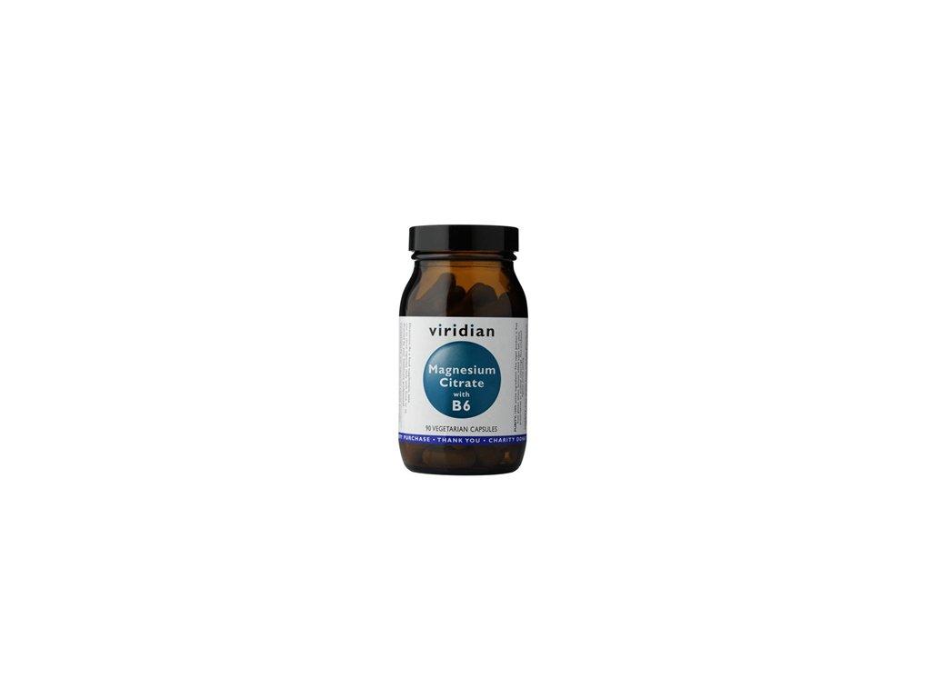 Magnesium with Vitamin B6   90 kapslí   Natureforlife.cz