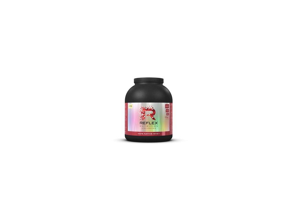 Reflex nutrition | 100% Native Whey 1,8kg | Natureforlife.cz