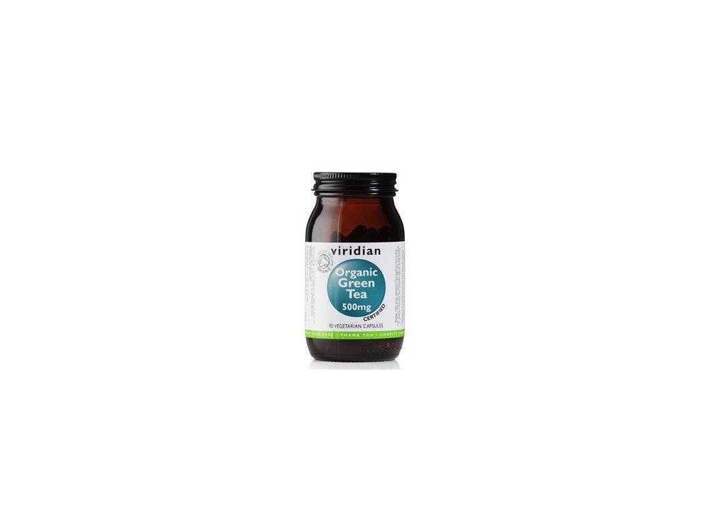 Green Tea Organic | 90 kapslí | Natureforlife.cz
