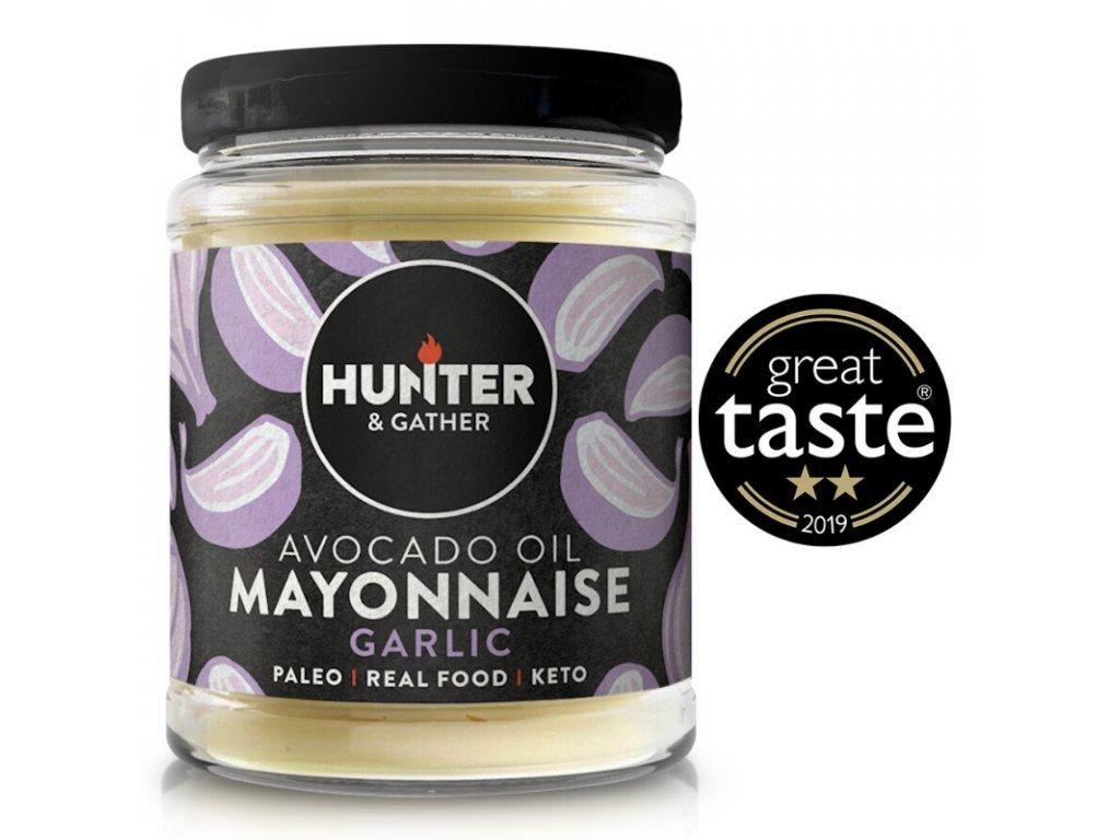 Hunter & Gather | Avokádová majonéza s česnekem 175g | Natureforlife.cz