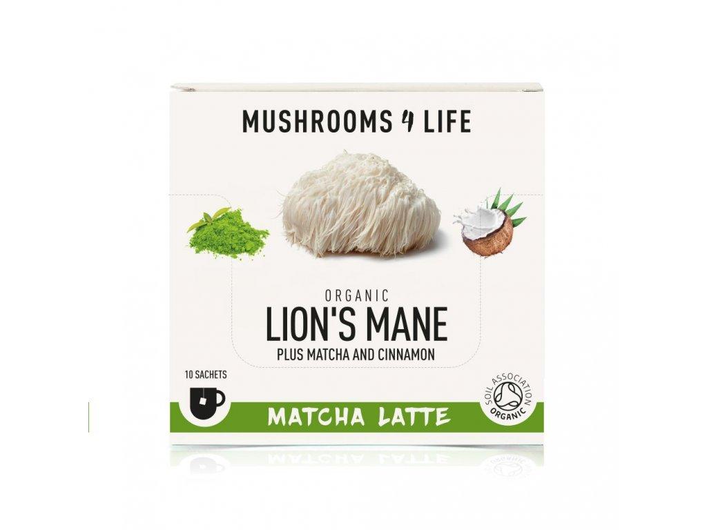 MUSHROOMS4 Life   Kokosové laté s houbou hericium 55g   Natureforlife.cz