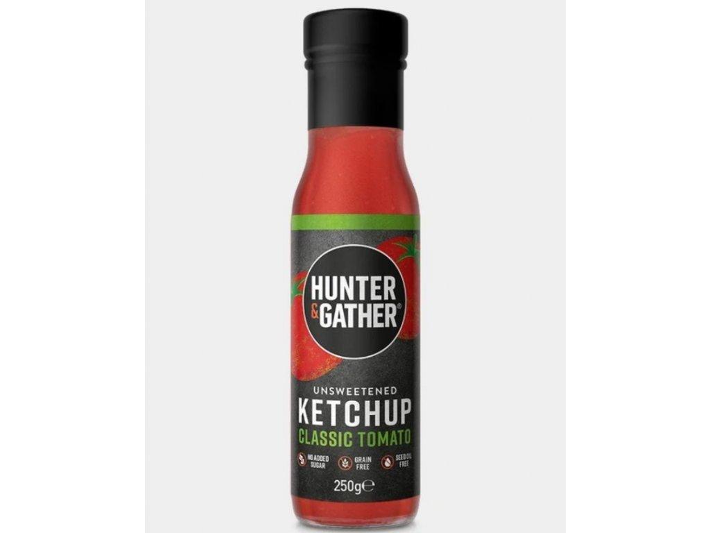 Hunter & Gather   Rajčatový kečup bez cukru CLASSIC   Natureforlife.cz