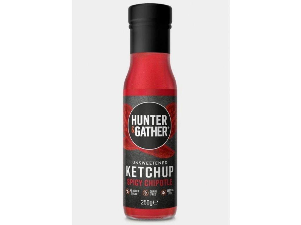 Hunter & Gather | Rajčatový kečup bez cukru SPICY | Natureforlife.cz