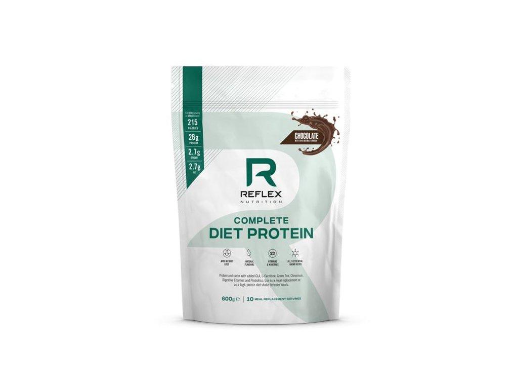 Reflex nutrition   Complete Diet Protein 600g , 5 příchutí   Natureforlife.cz