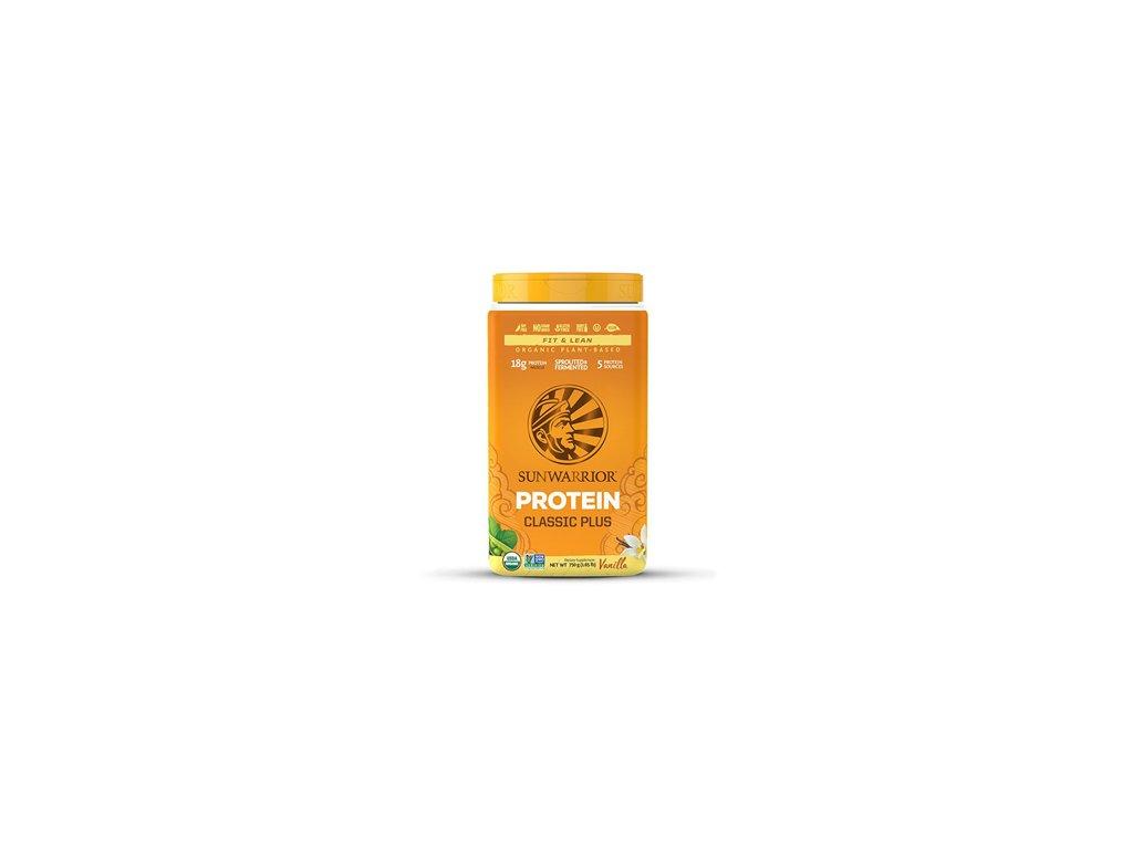 Sunwarrior   Protein Classic Plus BIO vanilka 750g   Natureforlife.cz
