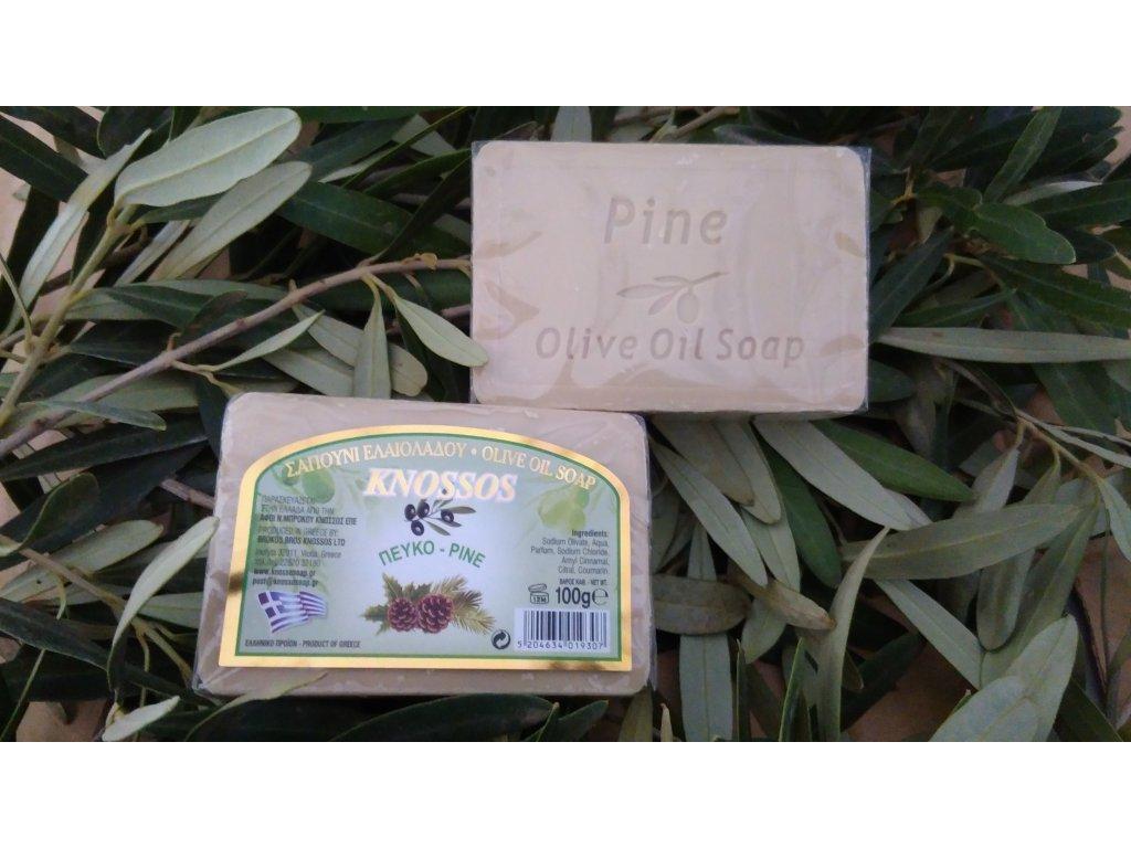 760 knossos olivove mydlo borovice 100 g