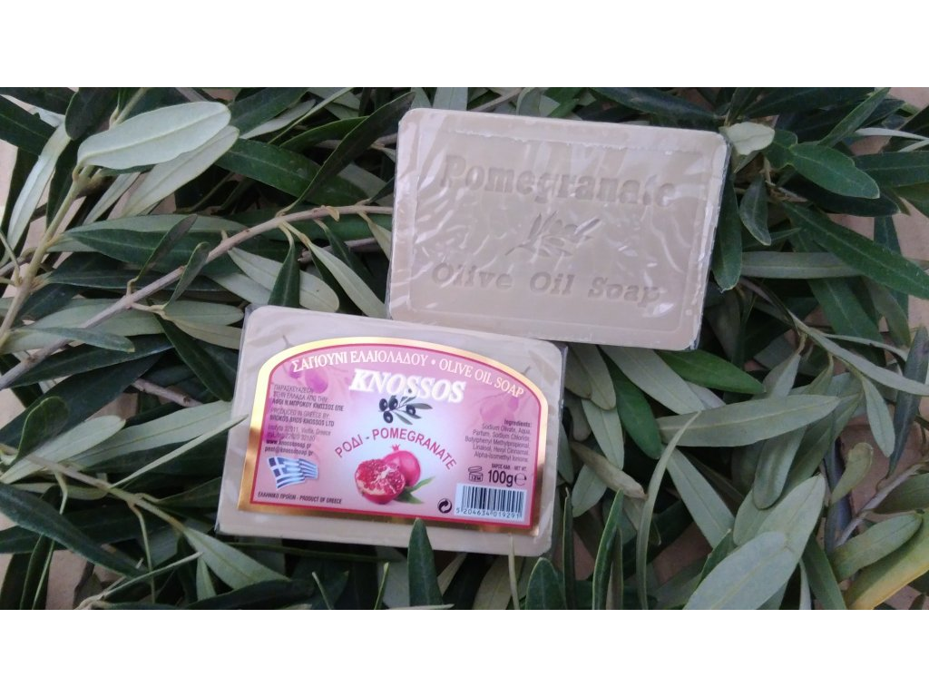 763 knossos olivove mydlo granatove jablko 100 g